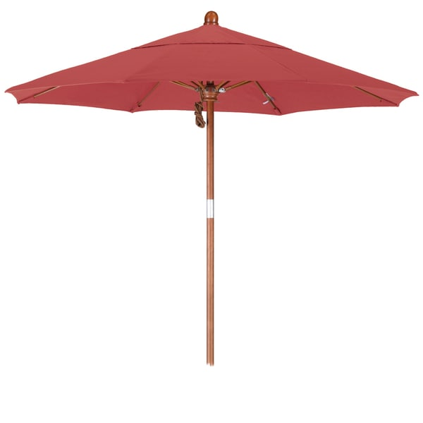 California Umbrella 7 5 Rd Marenti Wood Frame