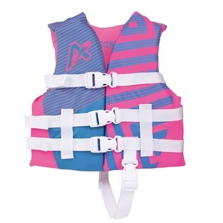 Airhead Trend Girls' Pink Closed-side Life Vest
