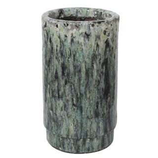 Terracotta Drip-glaze Planter