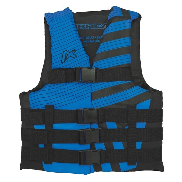 Airhead Trend Men's Blue/Black Closed-side Life Vest