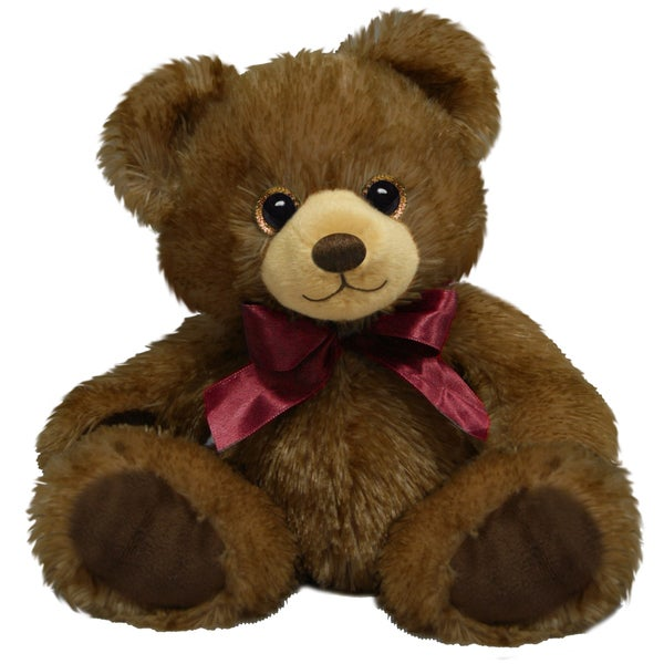 First and Main 7-inch Dark Brown Minkie Bear