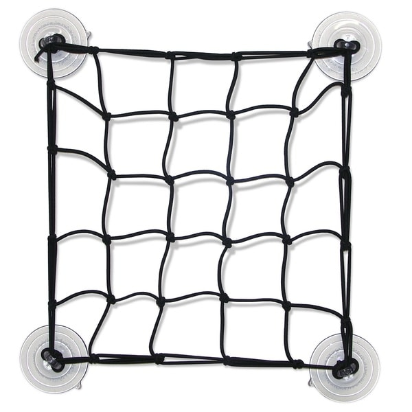 Propel SUP Black Nylon Cargo Net With Suction Cups