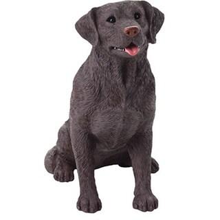 Urns by Canneto My Companion Brown Resin Chocolate Labrador Retriever Keepsake Pet Urn (As Is Item)