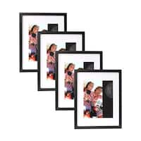 Wood Gallery Rectangular Picture Frames (Pack of 4)