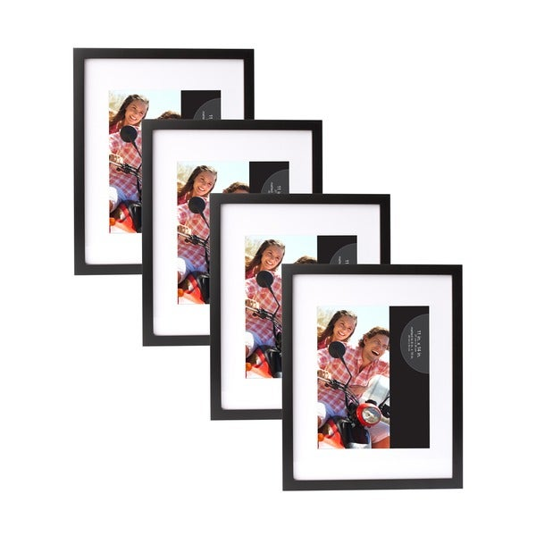 Shop Wood Gallery Picture Frames (Pack of 4) - On Sale - Free ...