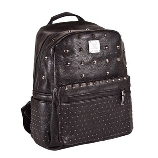 Ann Simone 'Coralyn' Studded Vegan Leather Mini Backpack