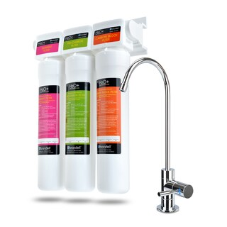 Brondell H2O+ Coral Three-stage Undercounter Water Filtration System With Over 99 Percent Lead Reduction