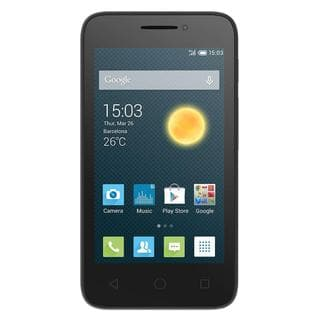 "Alcatel One Touch Pixi 3 (4.5"") Unlocked GSM 3G Android Refurbished Smartphone - Black"