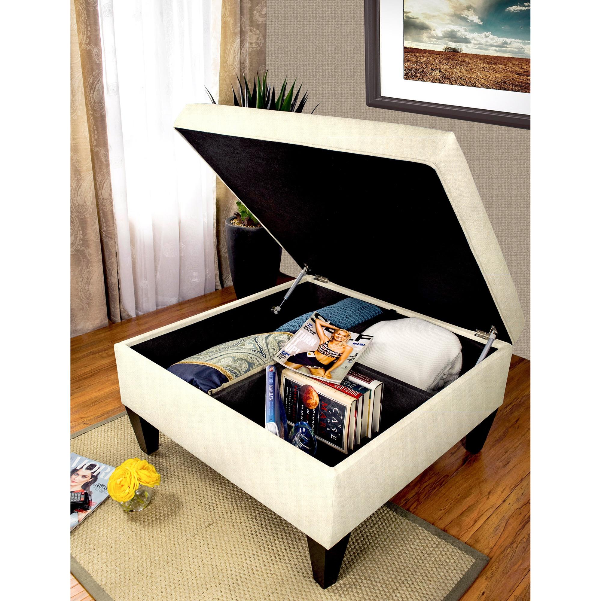 MJL Furniture Manhattan Allure Upholstered Organizational...