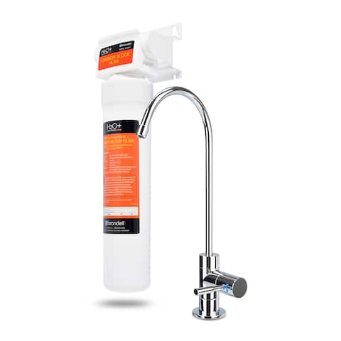 Brondell H2O+ Coral Single-stage Undercounter Water Filtration System with Over 99 Lead Reduction