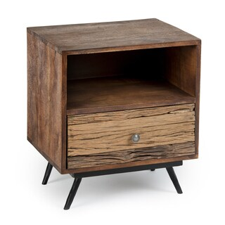 Kota 06-00821 Brown Chestnut Finish Wood 20-inch x 16-inch x 24-inch Nightstand