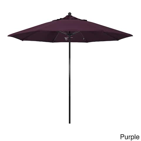 Havenside Home Riviera 9-foot Push Lift Fiberglass Round Umbrella