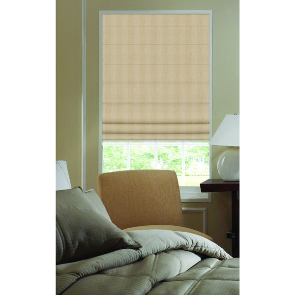 Ashton beige stripe roman shade 45 to 45 5 inch wide for 18 inch window blinds