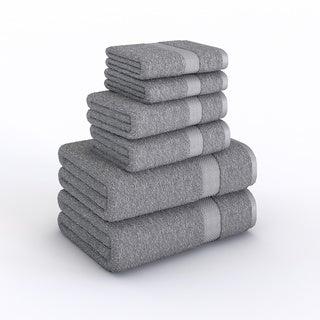 Elegance Spa Luxurious Cotton 600 GSM 6-piece Towel Set