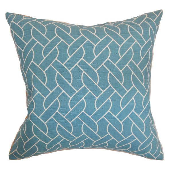 Neptune Geometric Throw Pillow Cover