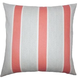 Velten Striped Throw Pillow Cover
