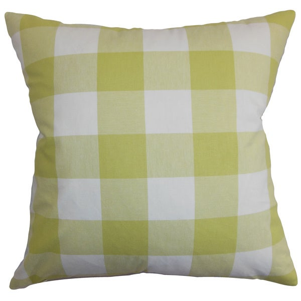 Vedette Plaid Throw Pillow Cover