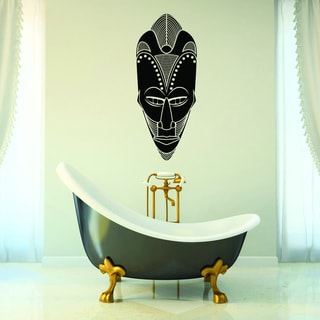 Style and Apply African Mask Wall Decal, Sticker, and Mural Vinyl Art Home Decor