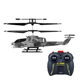 Swift Stream S-208 Super Cobra Blue Remote Control Helicopter