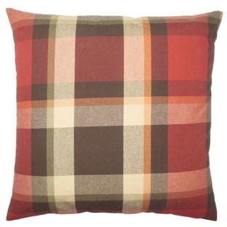 Ofer Plaid Throw Pillow Cover