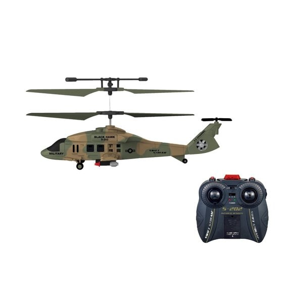 Swift Stream S-202 Black Hawk Remote Control Helicopter
