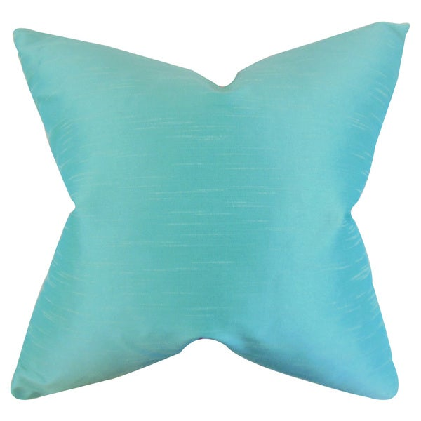Acker Solid Throw Pillow Cover