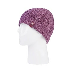 Grabber Heat Holders Women's Pink Knit Hat
