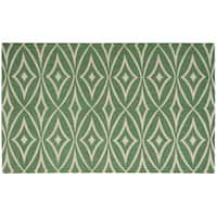 Waverly Color Motion Centro Teal Area Rug by Nourison (2'3 x 3'9)