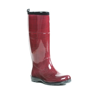 Kamik Women's Checks Rainboots