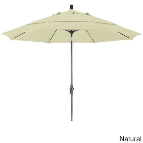 California Umbrella 11-Foot Market Umbrella in Bronze