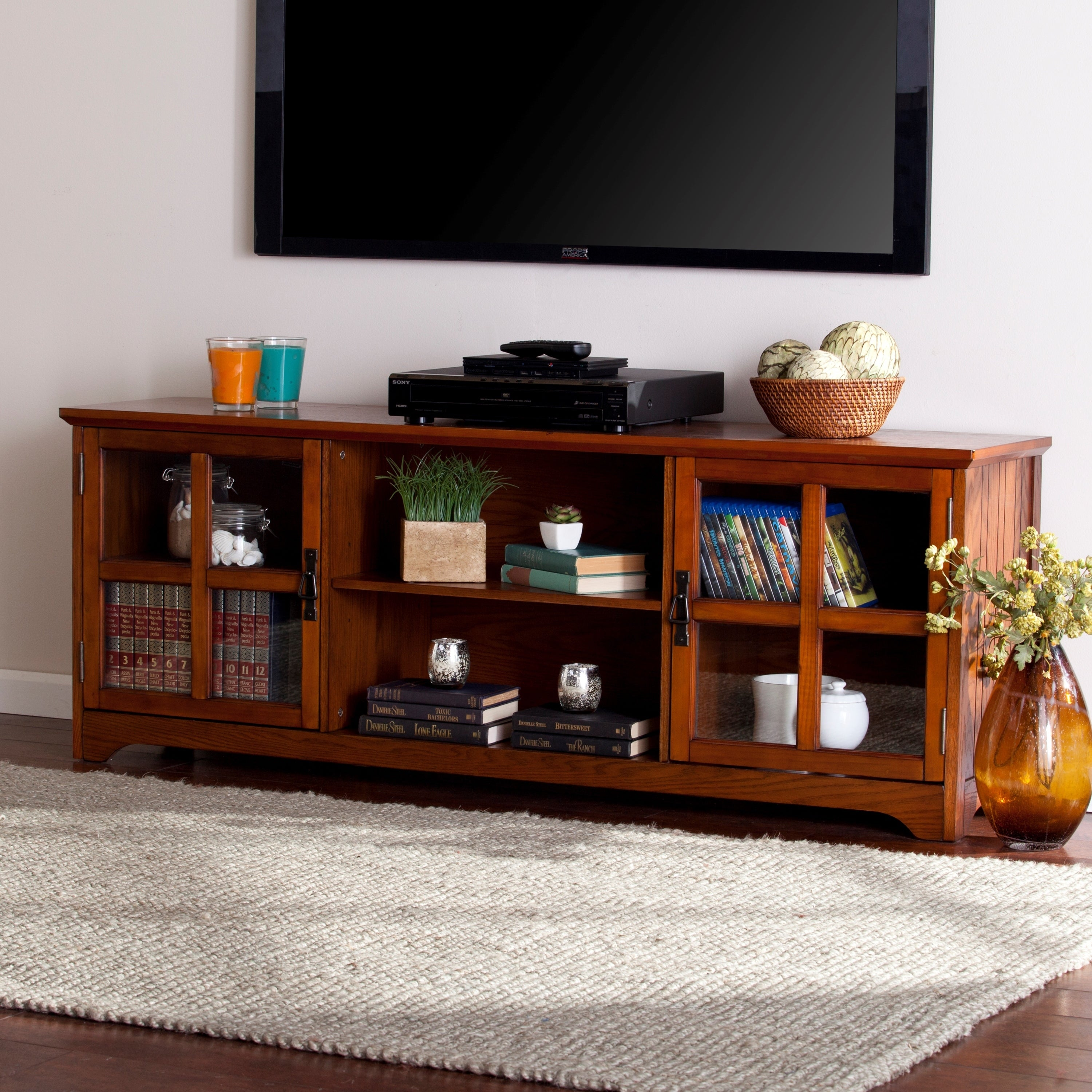 Shop Rawley 65 Inch Tv Stand Console Overstock 11976610