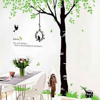 Home Source 'Love Tree' 56-inch x 100-inch Removable Wall Decal