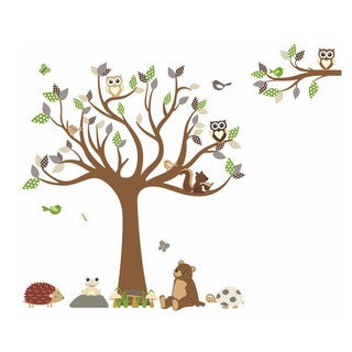 Fall Forest Freedom Wall Decal