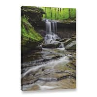 Greg Murray's 'Blue Hen Falls 5' Gallery Wrapped Canvas