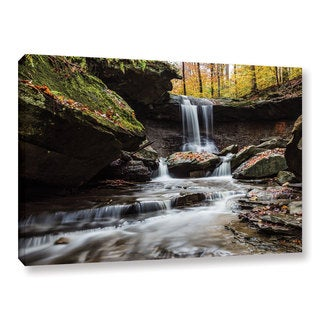 Greg Murray's 'Blue Hen Falls 6' Gallery Wrapped Canvas