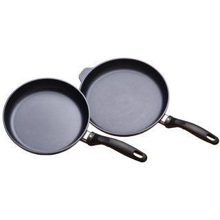 Swiss Diamond Aluminum 9.5-inch and 11-inch Fry Pan Duo