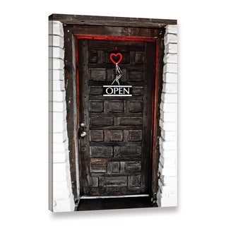 Greg Murray's 'Love Door' Gallery Wrapped Canvas