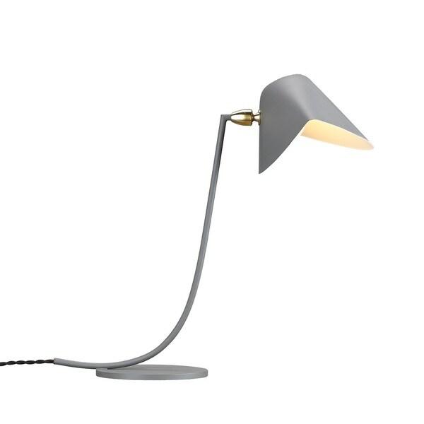 Hans Andersen Home Ditte Grey Metal Table Lamp