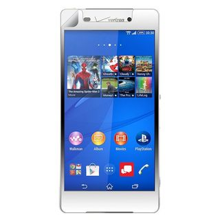 Insten Clear LCD Screen Protector Film Cover For Sony Xperia Z3v