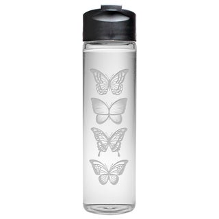 Butterflies Travel Water Bottle