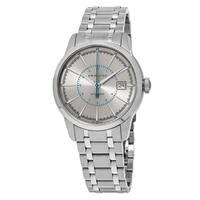Hamilton Men's H40555181 'American Classic' Silver Dial Stainless Steel Railroad Swiss Automatic Watch