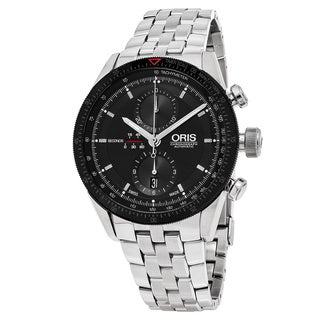 Oris Men's 674 7661 4434 MB 'Artix GT' Black Dial Stainless Steel Chronograph Swiss Automatic Watch