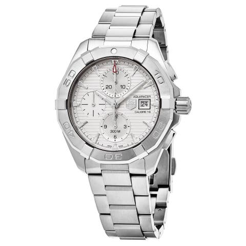Tag Heuer Men's CAY2111.BA0927 'Aquaracer' Chronograph Automatic Stainless Steel Watch
