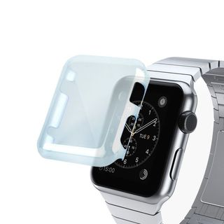 Insten TPU Rubber Candy Skin Case Cover For Apple Watch 38mm