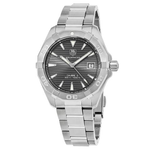 Tag Heuer Men's WAY2113.BA0928 'Aquaracer' Automatic Stainless Steel Watch