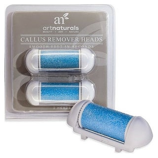 Art Naturals Callus Remover Replacement Heads (Pack of 2)