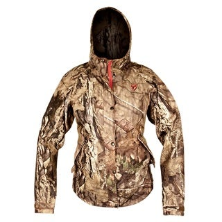 Sola Women's Forest Camouflage Tricot Scent Blocker Drencher Jacket