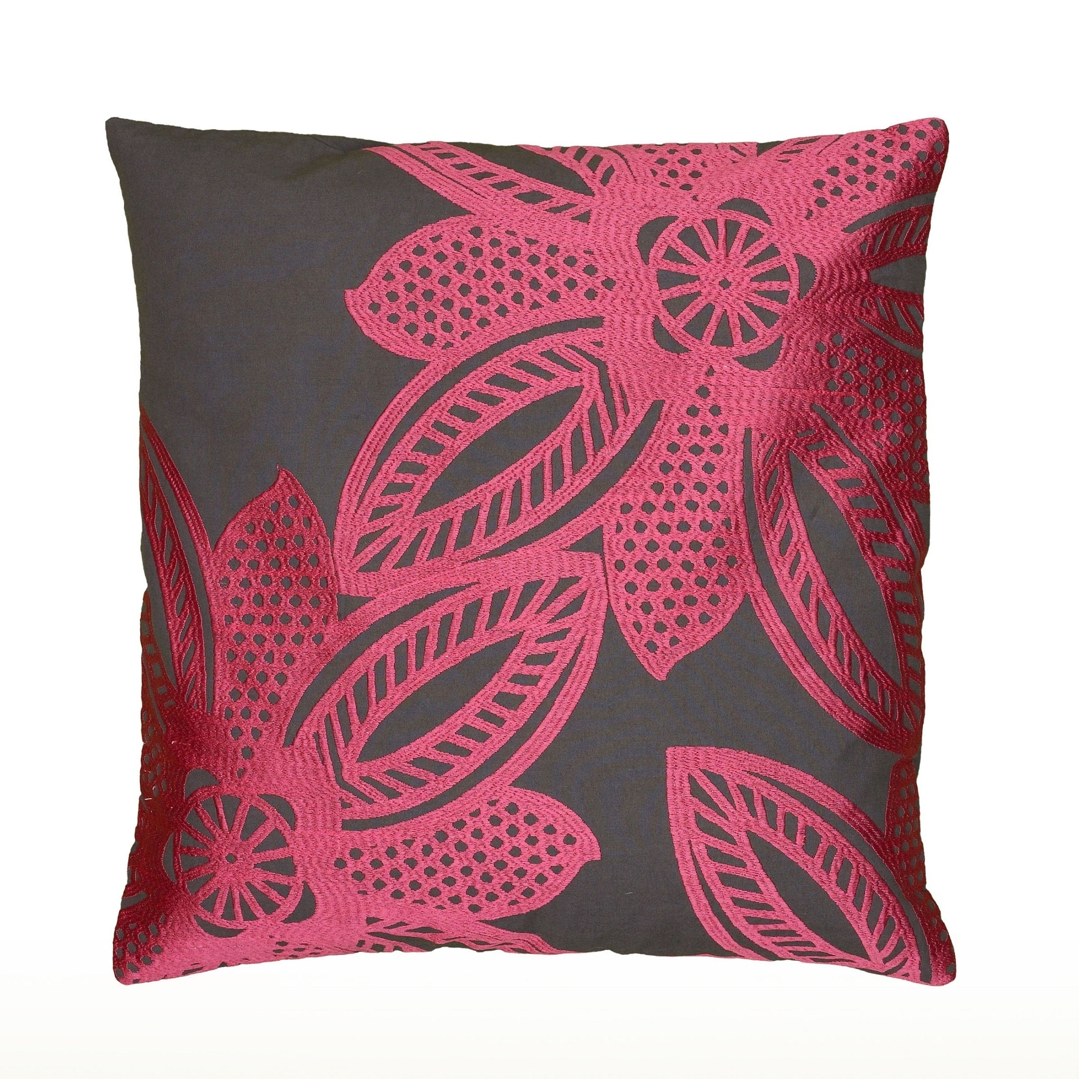 30 X 20 30 by 20-Inch Kess InHouse Nika Martinez Arabesque Pink Teal Standard Pillow Case