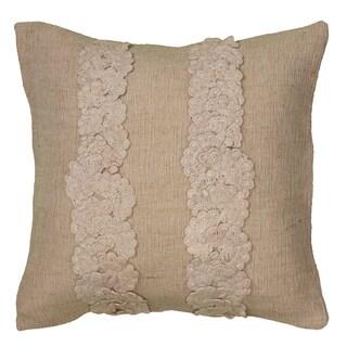 Rizzy Home Applique Decorative Throw Pillow