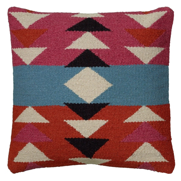 Shop Rizzy Home Woven Southwest Patterned 40inch Decorative Throw Extraordinary Southwest Decorative Pillows